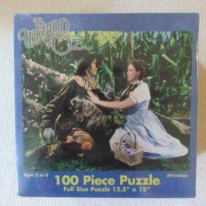 100 piece Wizard of Oz Dorothy/Scarecrow puzzle